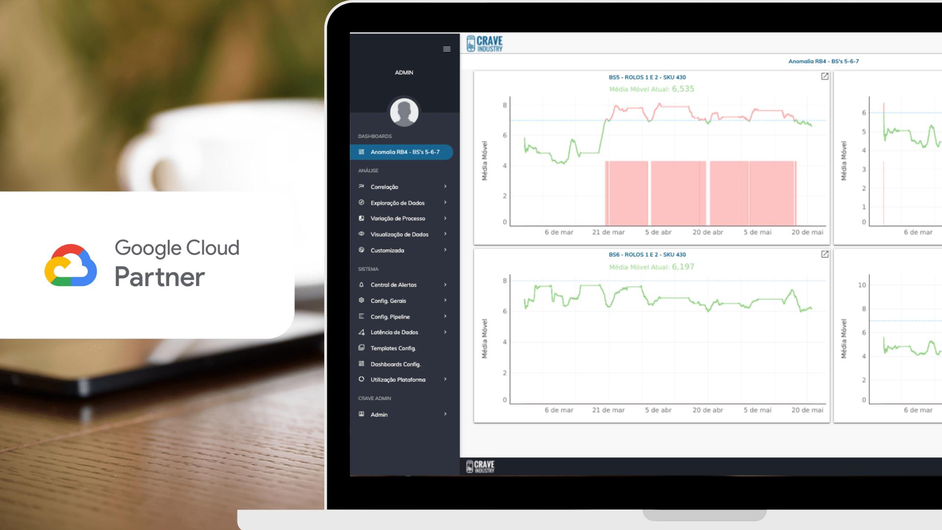 Crave industry é oficialmente um Google Cloud Partner